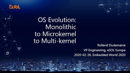 OS Evolution: Monolithic to Microkernel to Multi-kernel
