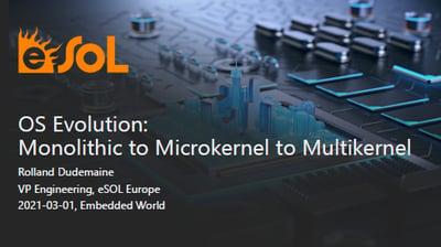 Presentation: OS Evolution - Monolithic to Microkernel to Multikernel