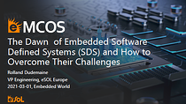 The Dawn of Embedded Software Defined Systems (SDS) and How to Overcome Their Challenges