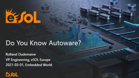 Do You Know Autoware?